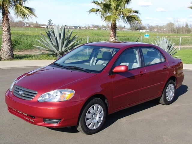 2003 toyota corolla ce review