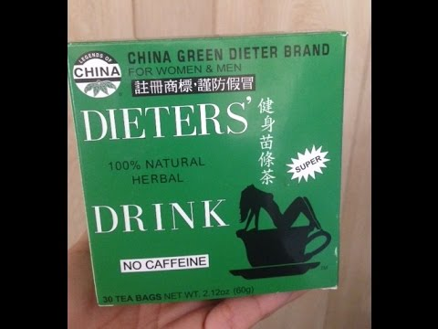 china green dieters tea review