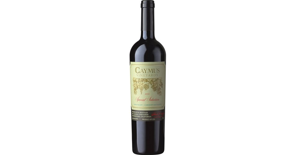 caymus special selection 2014 review