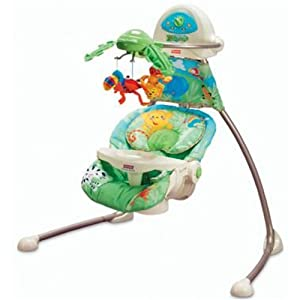 fisher price rainforest swing reviews