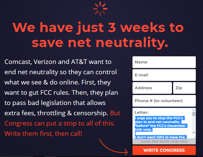 congressional review act net neutrality