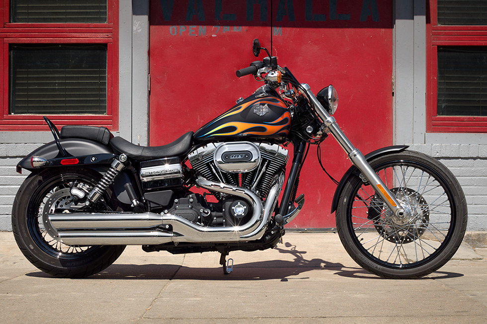 2017 harley wide glide review