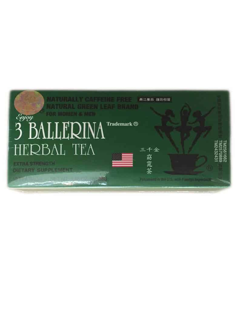 3 ballerina dieters tea reviews