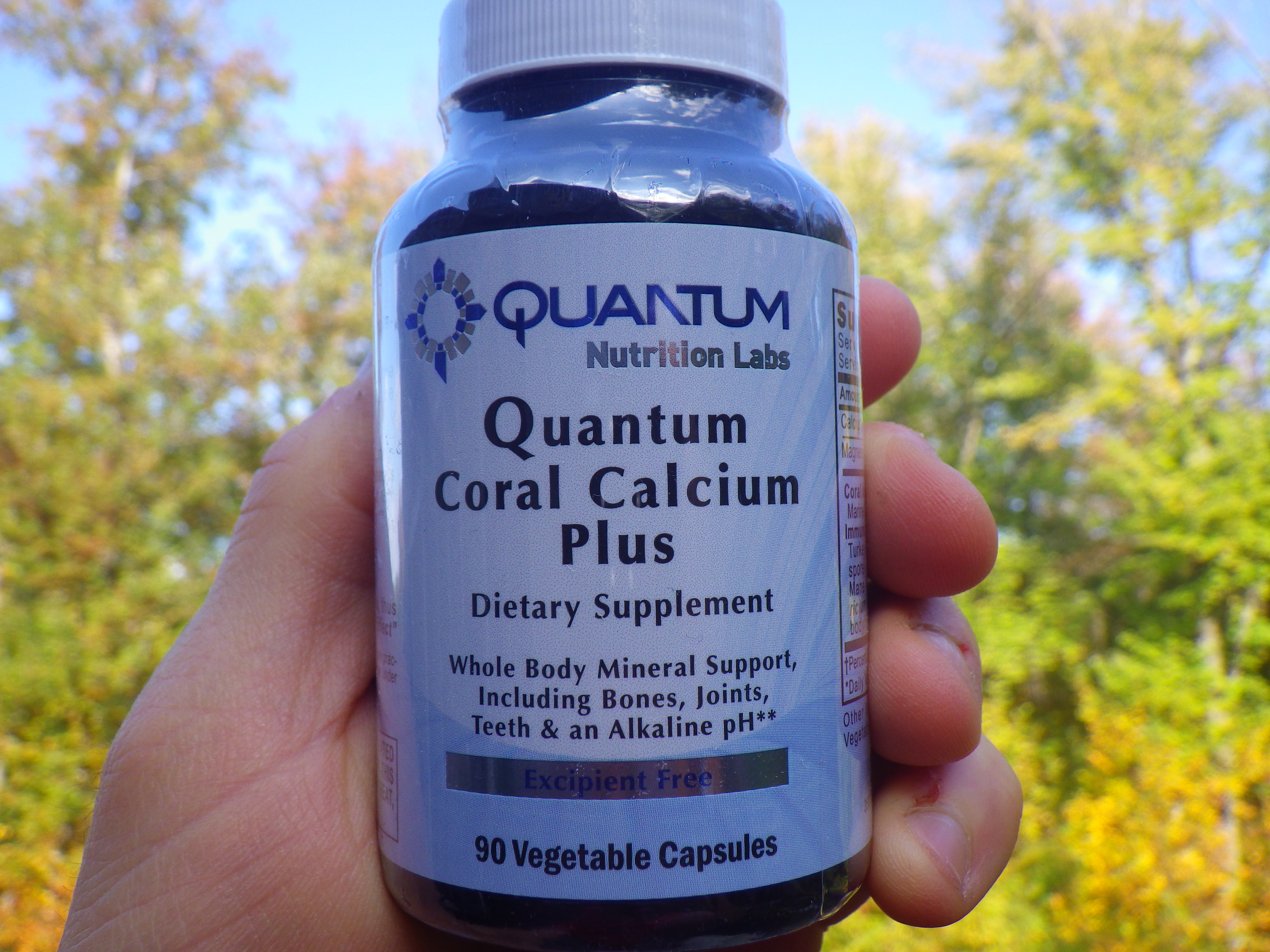 coral calcium and cancer reviews