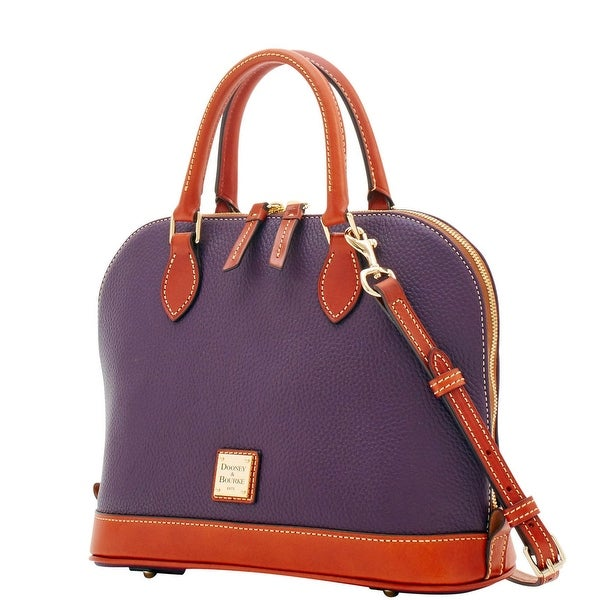 dooney and bourke zip zip satchel review