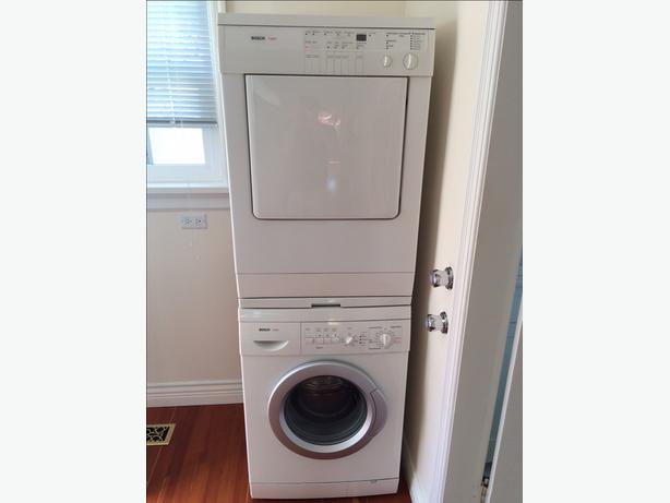 bosch stackable washer dryer reviews