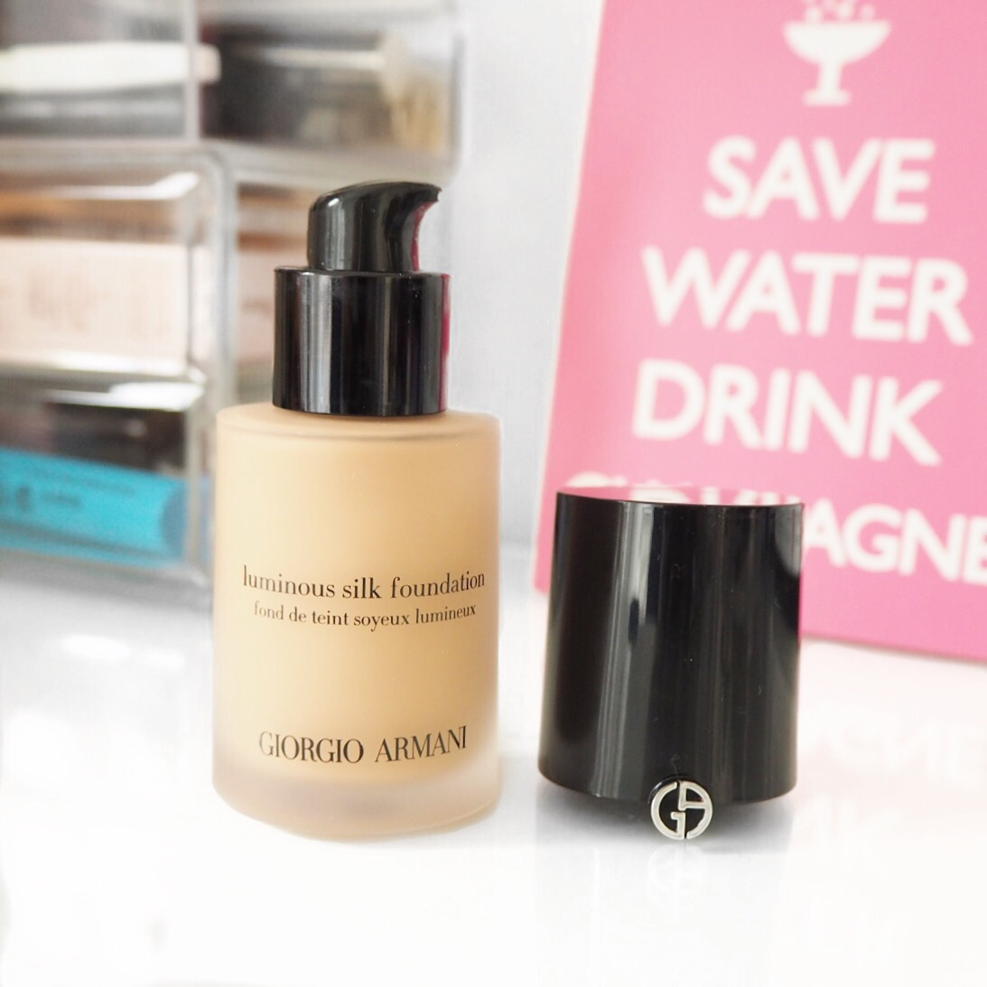 giorgio armani luminous silk foundation review dry skin