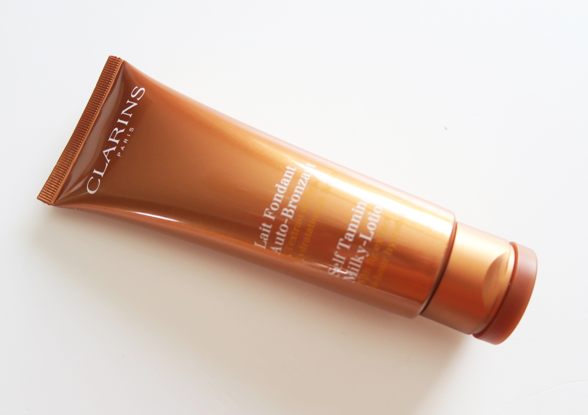 clarins self tanning milky lotion reviews