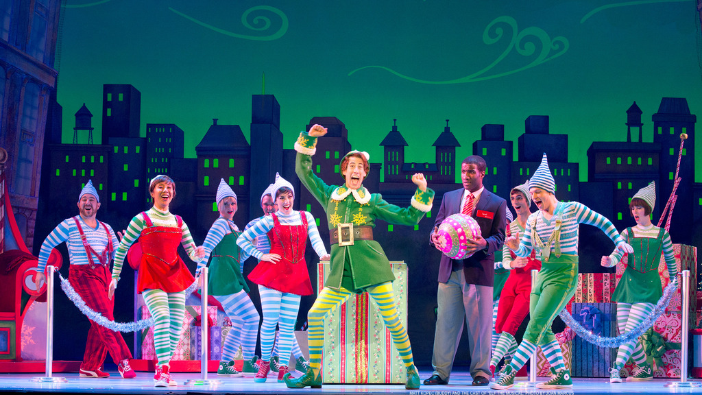 elf the broadway musical reviews