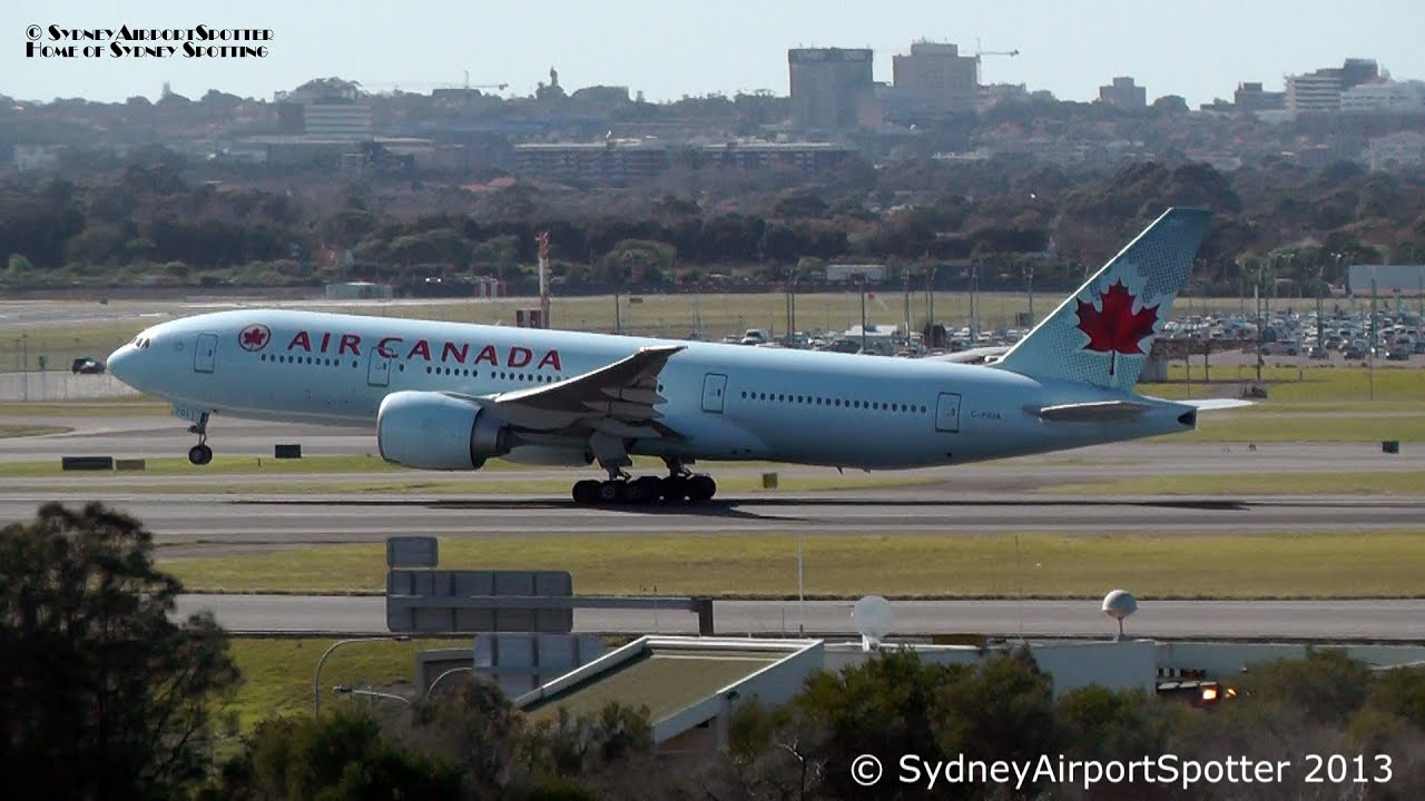 air canada vancouver to sydney review