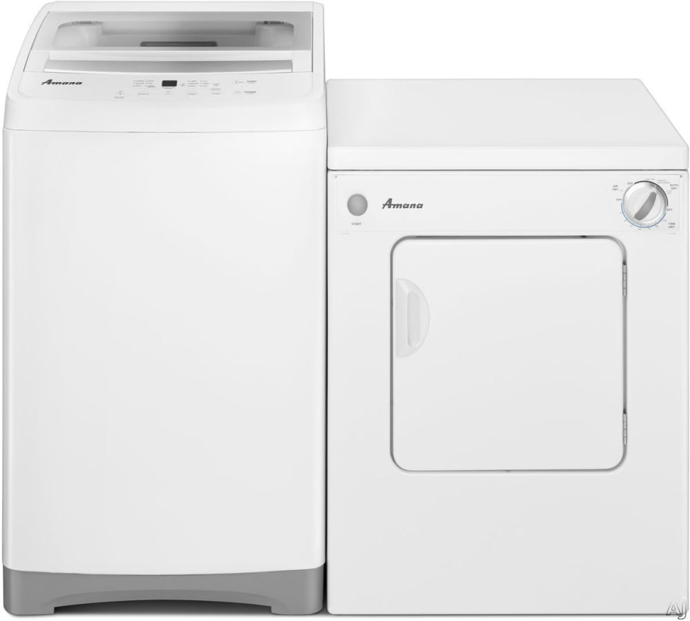 amana top load washer and dryer reviews
