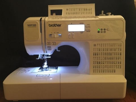 brother sq9130 sewing machine review