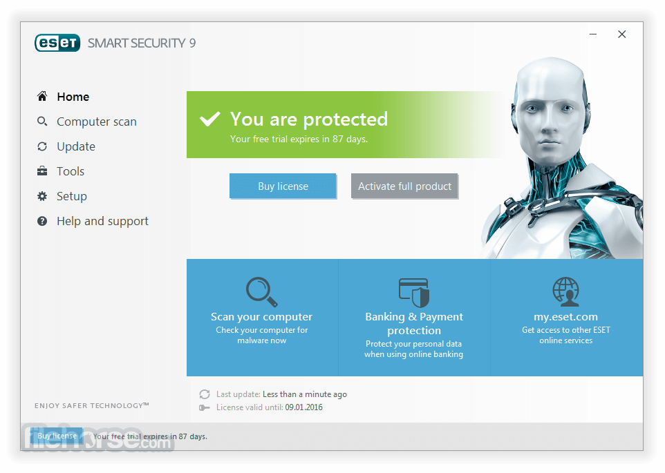 eset smart security 7 review