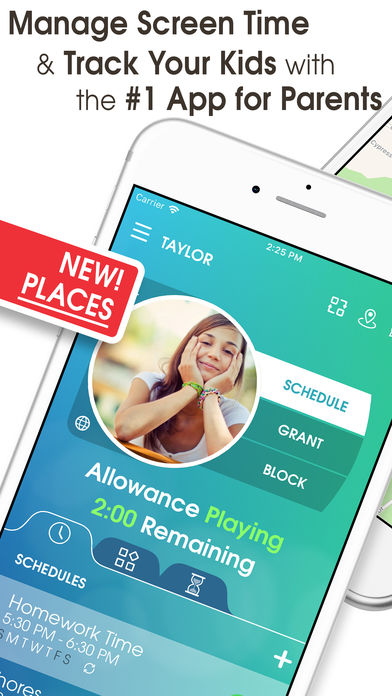 family gps locator kid control review