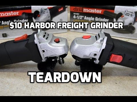 harbor freight angle grinder review