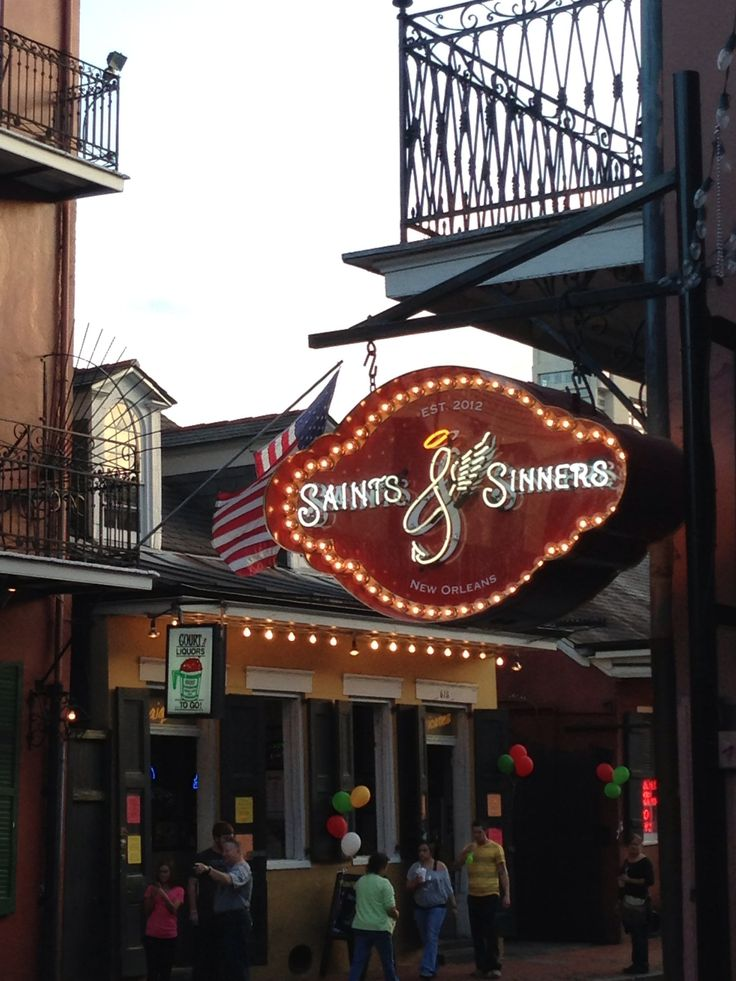 saints and sinners new orleans reviews